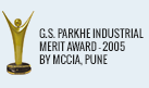 G.S. Parkhe Industrial Merit Award - 2005